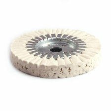 "6 inch Cotton Airway Buffing Wheel Polishing Pads cloth Wheel Arbor 1""Ply 24"