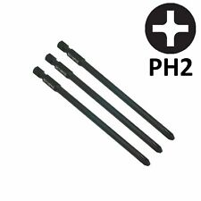 3 x Genuine SabreCut PH2 Autofeed Screwdriver Bits for Hilti SMD 57 SMD57