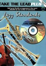 TAKE THE LEAD PLUS-CLARINET-JAZZ STANDARDS Woodwind Instrument-MUSIC BOOK/CD-NEW
