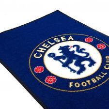 Chelsea FC Official Football Gift Crest Mat Rug Blue 99