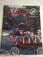 HORSELESS CARRIAGE GAZETTE PERIOD FASHION MAGAZINE NOVEMBER DECEMBER 1967