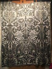 WARM Wool Blend Reversible Scarf Shawl Wrap Stole Jacquard Jamawar Style