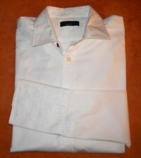 MEN'S * TED BAKER * DOUBLE CUUF * IVORY COLOUR * SIZE- 16,5-UK-M * FORMAL SHIRT