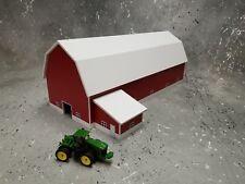 1/64 farm Custom scratch building dairy barn white/red farm toy