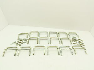 """Speed Rack Pallet Rack Racking Clip Clips 4"""" Safety Pin Pins Lot of 16"""