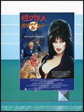 ELVIRA_Mistress of the Dark__Original 1987 Trade AD / poster__Cassandra Peterson