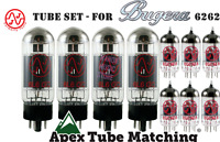 Tube Set - for Bugera 6262 JJ Tesla valve vacuum tubes