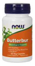 Butterbur 75mg Now Foods 60 VCaps