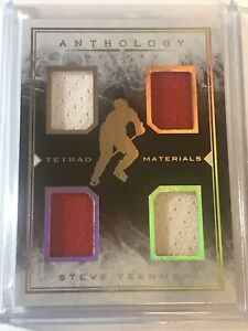 2014-15 Panini Anthology Tetrad Materials Steve Yzerman 10/49