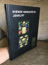 Wiener Werkstätte Jewelry 2008 BOOK Hardcover weiner neue galerie vintage