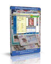 GS timbres-administration 4-logiciel pour gérer votre collection