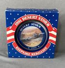 Внешний вид - Desert Storm Ceramic Keepsake Medallion 1991 Ornament World Peace AGC