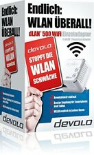 Devolo dLAN 500 WiFi Powerlan Adapter, LAN Port, Powerline WLAN Repeater #2