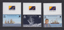 Islas Malvinas 2000 Mint estampillada sin montar o nunca montada Ernest Shackleton expedición resistencia Set Completo