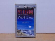 Beach Music by Pat Conroy read by Peter Macnicol Cassette Audiobook