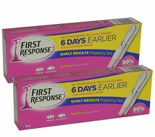 4 x First Response Ultra Early Result Pregnancy Test Kits 2 Packs of 2 Tests