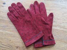Paire de gants cuir Hermès  vintage taille 7 -  272