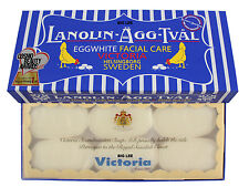 New Victoria's Sweden Eggwhite Soap Facial Care Pack 300g (50g x 6 Bars)