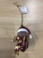 Florida State Seminoles Football Snowman Ornament