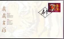 Canada 1998 FDC sc# 1708 Year of the Tiger