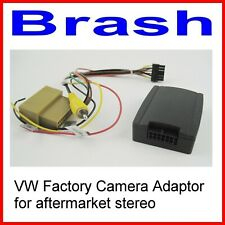 VW FACTORY CAMERA RETENTION  ADAPTER FOR AFTERMARKET STEREO HEAD UNIT