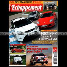 ECHAPPEMENT N°503 AUDI TT RS PORSCHE CAYMAN S FOCUS RS CORSA OPC CIVIC R 2009