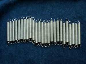 """25  tension spring extensions  2 13/16 """" by 5/16"""" Steampunk   Hillman   #192"""