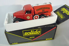 Ford V8 SOLIDO Metal 1:19 Model Car Toy Auto LKW OVP Fire Dept. Feuerwehr 1936