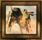 Howard Terpning, Proud Men, Giclee print, limited edition, Native American