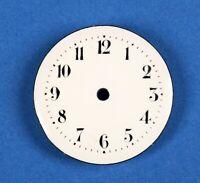 Zifferblatt f Taschenuhr Uhr EMAIL TASCHENUHRZIFFERBLATT D32,5 pocket watch dial