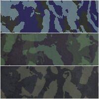 Kunstleder Camouflage Lederoptik 3 Farben - vegan, strapazierfähig | Lederimitat