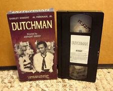 DUTCHMAN play adaptation Amiri Baraka 1967 Shirley Knight biracial VHS prejudice