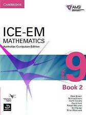 ICE-EM Mathematics Australian Curriculum Edition Year 9 Book 2 AMSI FREE SHIP!