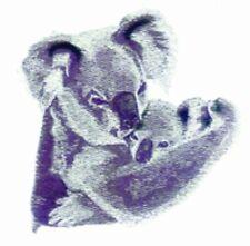 Embroidered Fleece Jacket - Koala Pair Bt3648 Sizes S - Xxl