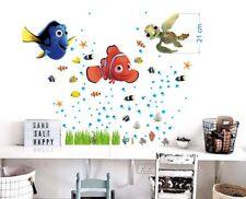 FINDING Nemo Dory Wall Stickers Bafhroom Sea Fish Bedroom Decor Children 3X20x30
