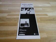 SIMPLE MINDS - Petite Publicité de magazine / Advert EMPIRES AND DANCE !!!