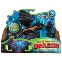 New How to Train your Dragon, Hidden World, Hiccup & Toothless  Action Figures