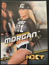 Liv Morgan 2016 WWE Topps Divas Revolution #41 1st NXT Card