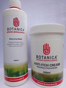 Botanica 550ml Anti Itch Treatment Cream & 500ml Wash