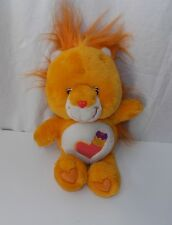 "Care Bear Cousins Brave Heart Lion 13"" 2004 Play Along Plush Stuffed Animal Toy"