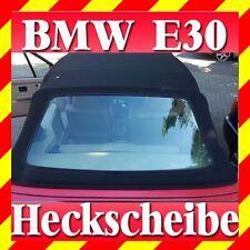 BMW E30 Cabrio Heckscheibe Verdeck Cabrioheckscheibe grüne Renolit PVC