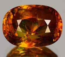 4.00 cts Natural Unheated Fancy Oval-cut Color-Changing VVS Sphene (Russia)