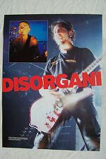SHAVO ODADJIAN & DARON MALAKIAN (System Of A Down) - 2002 Magazine Poster