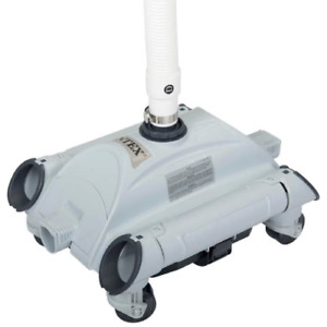 Intex 28001 pool bottom cleaning robot with wheels bottom cleaning robot