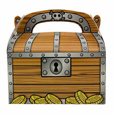 24pk Treasure Chest GoodieTreat Bag PIRATE Birthday Party Loot Favors Favor