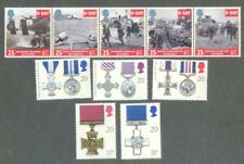 Great Britain-D-Day & Medals sets mnh -Military World War II