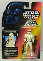 1997 Kenner Star Wars Stormtrooper Tri Logo POTF 2 Red Japanese Sticker Figure