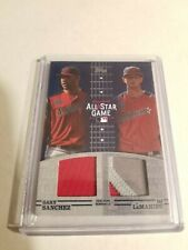 2019 Topps Update All-Star Stitches Dual Relic Gary Sanchez /LeMahieu Patch 1/25