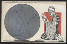 Postcard YOGI-SWAMI METAMORPHIC CRYSTAL BALL FORTUNE TELLING CARD #4 1929