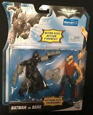 The Dark Knight Rises BATMAN vs BANE Walmart Exclusive figures GOTHAM SHOWDOWN